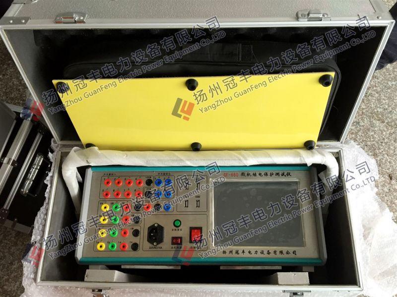 六相继电保护测试仪试验时相关注意事项